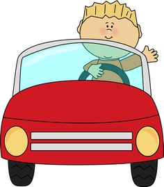 Go In Car Clipart.