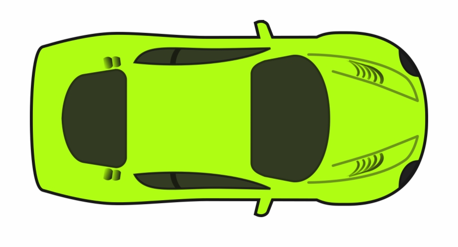 Bright Green Racing Car Clipart By Qubodup.