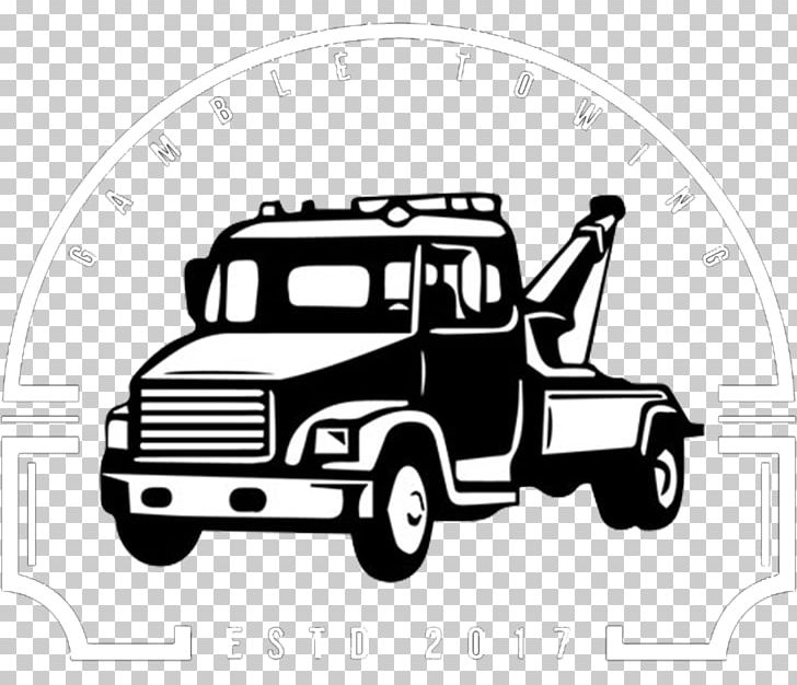 Car Tow Truck Towing PNG, Clipart, Automotive Design, Black.