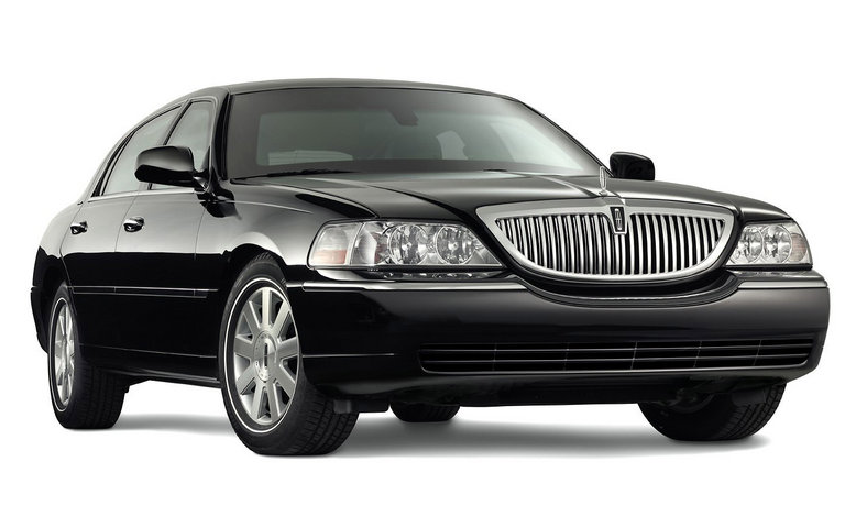 Lincoln town car clipart.