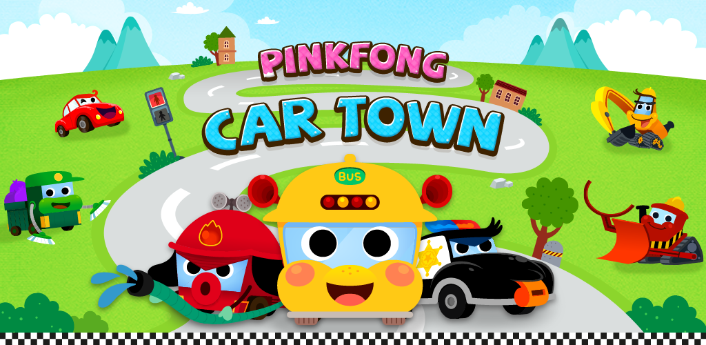 Amazon.com: PINKFONG Car Town: Wheels on the bus and more.