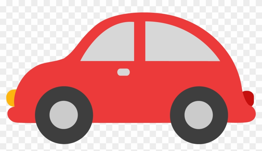 Red Clipart Car.