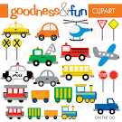 Car Transportation Clipart in clipart transportation collection.