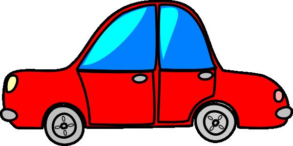 Car Red Cartoon Transport Clip Art at Clker.com.