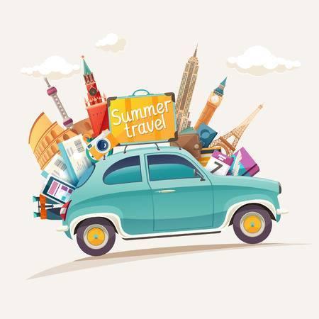 Car travel clipart » Clipart Portal.