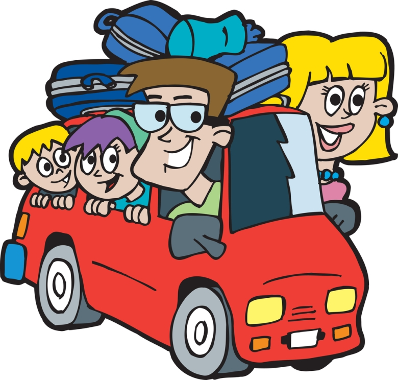 Road Trip In A Little Red Bug Clipart Free Clip Art Images.