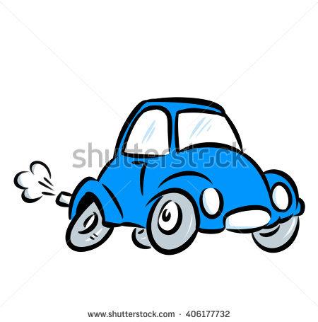 Car Trip Clipart Cartoon Blue Car Clipground