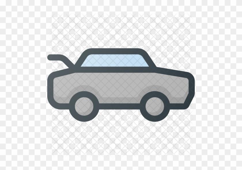 Car Trunk Icon.