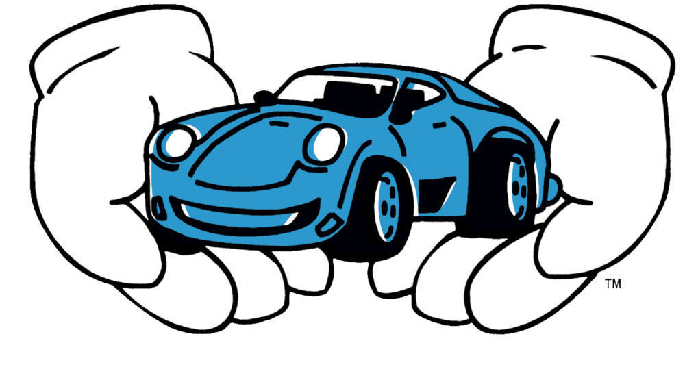 Car open trunk vector black and white library png files, Free CLip.