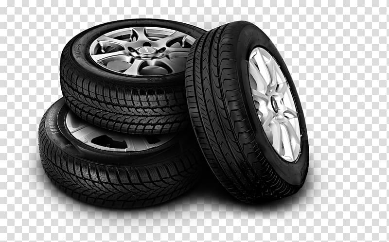 Falken Tire Car Alloy wheel Rim, tyre transparent background PNG.