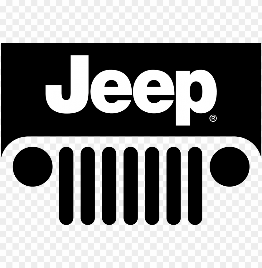 cj wrangler jeep car vector logo clipart.