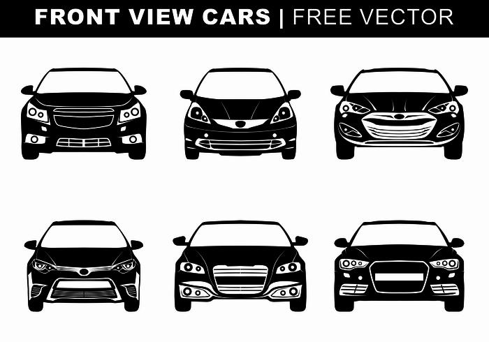 Car Silhouette Free Vector Art.