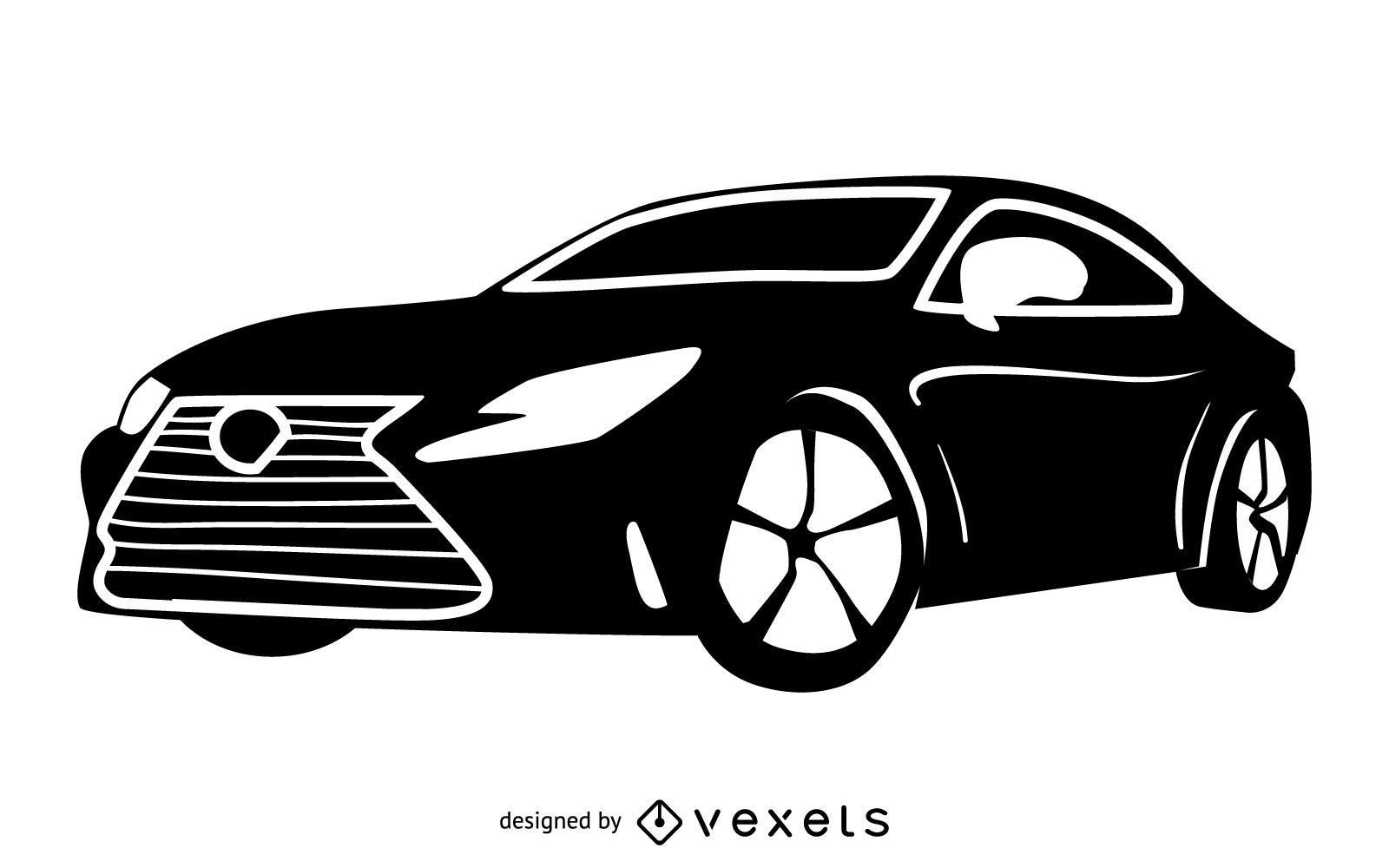 Lexus RC F Luxury Toyota Car.