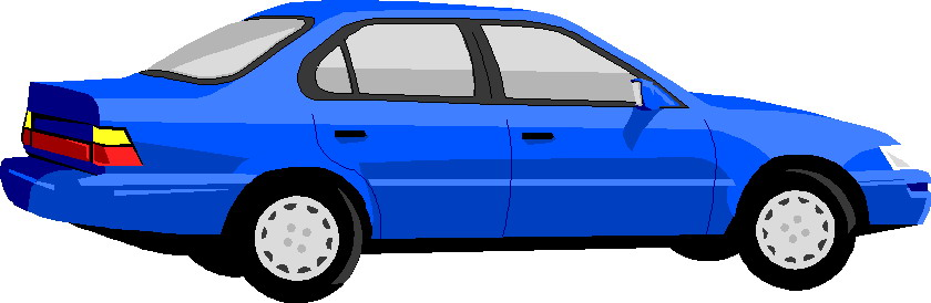 Free Clip Art Animated Car.