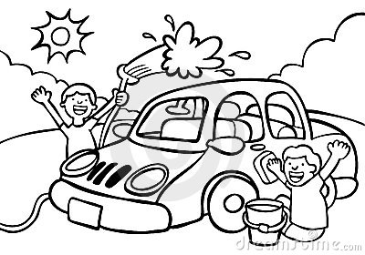 free car wash clipart black and white clipground Cup Clipart car wash black and white clipart