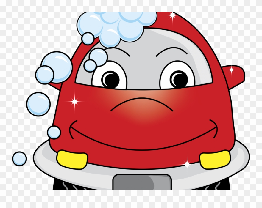 Homey Free Clip Art Car Wash Cartoon Smile Png Clipart.