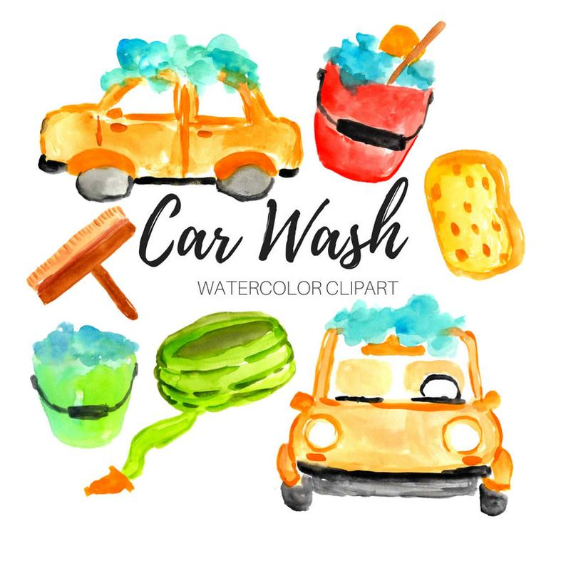 Car wash clipart.