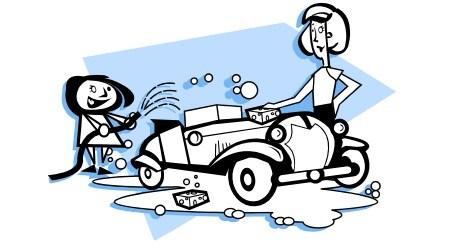 Car wash clipart black and white 4 » Clipart Portal.