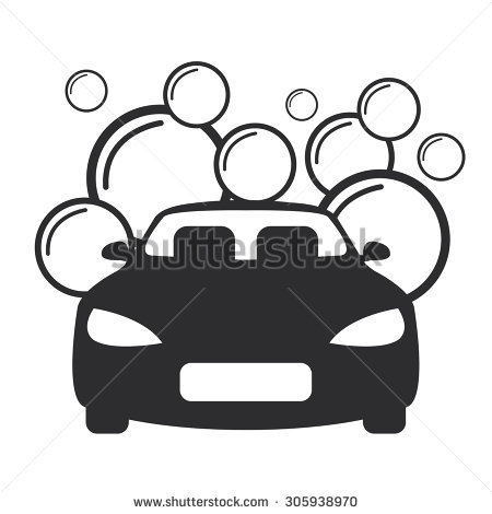 Car wash clipart black and white 1 » Clipart Station.