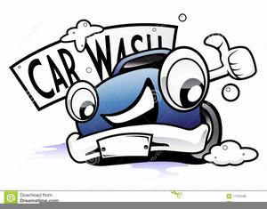 Funny Car Wash Clipart.