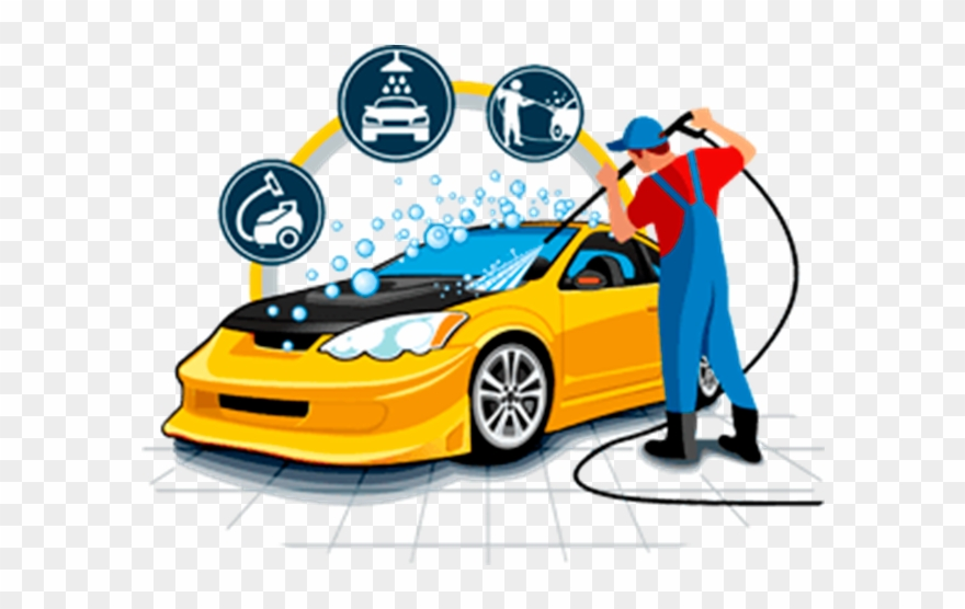 Car Graphics Vector Cleaning Wash Download Free Image.