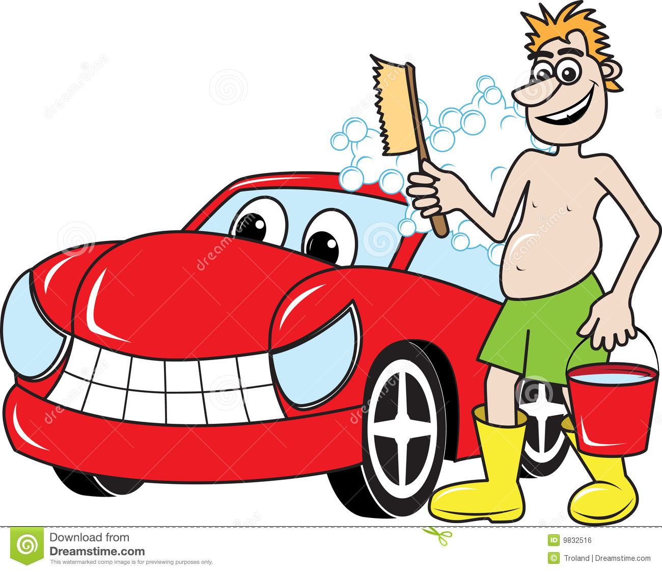 Showing post & media for Car washer cartoon.