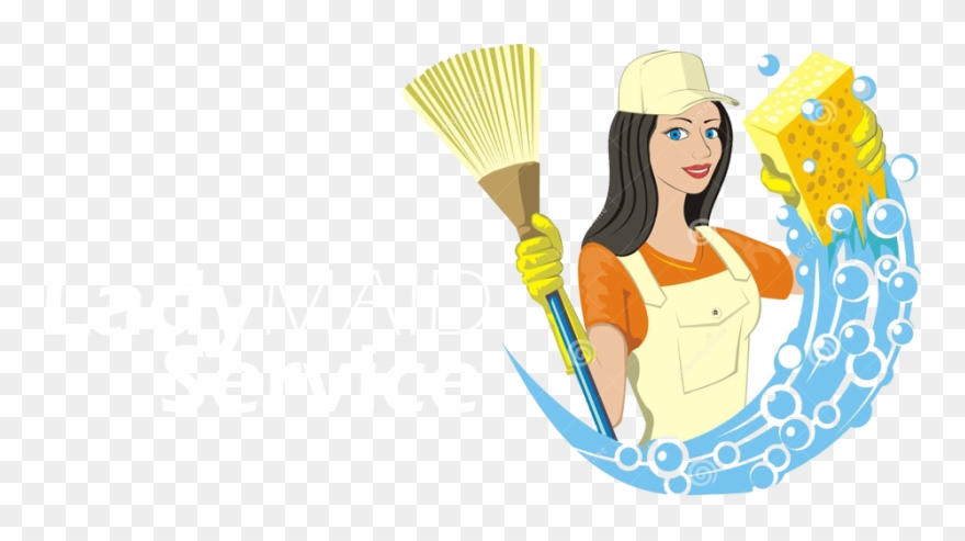Janitor Clipart Female.