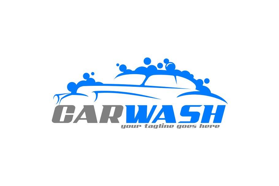 Classic Car Wash Logo.