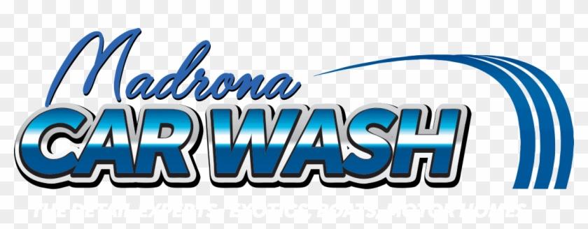 Madrona Car Wash Logo.