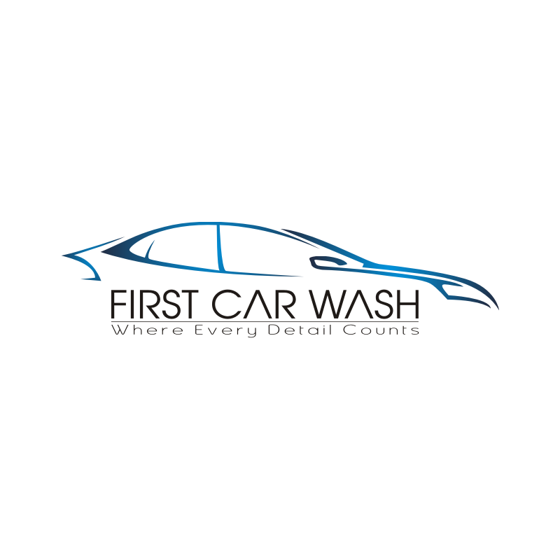 final first car wash logo png.