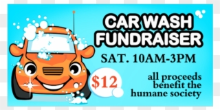 Car Wash Fundraiser Vinyl Banner.