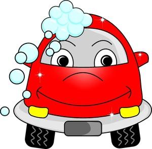 Free cartoon car wash clipart.
