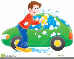 Car Wash Cartoon Clipart.