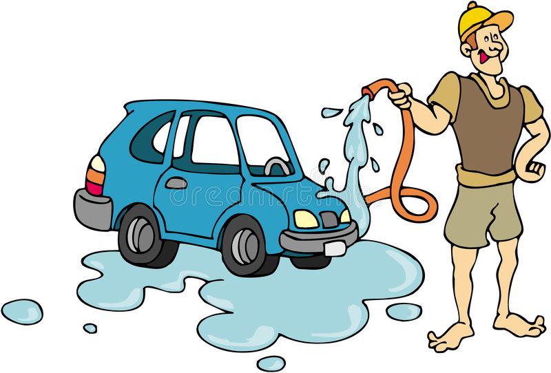Car Wash Stock Illustrations.