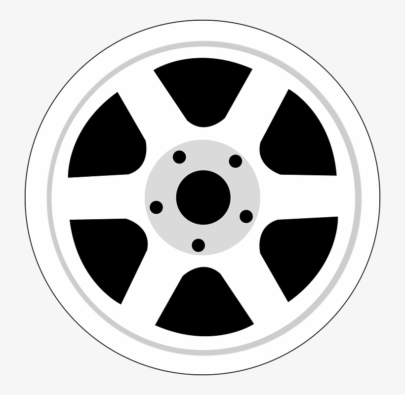 Car Wheel Clipart Png File.