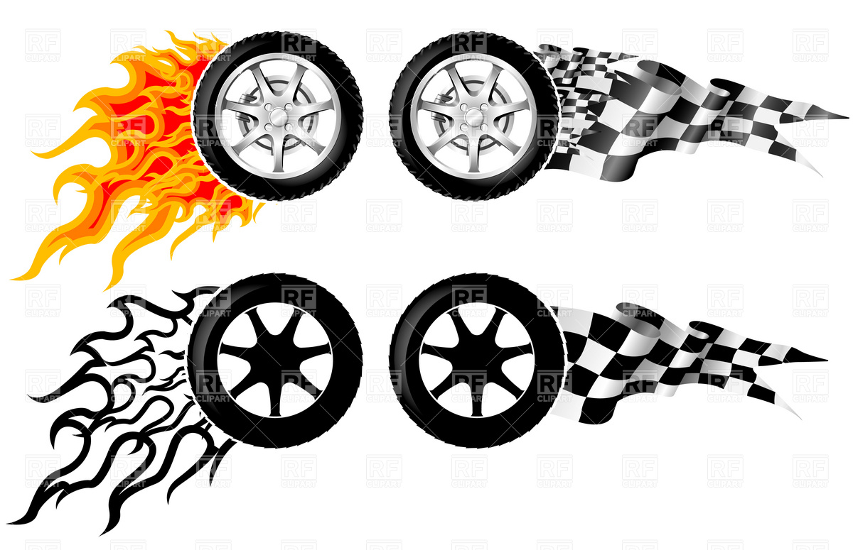 Car Wheel Clipart.