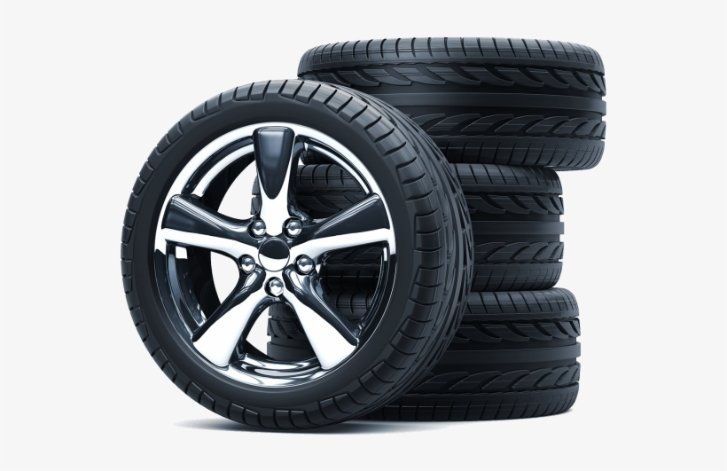 A Tyre Stack With Quality Alloy Wheels.