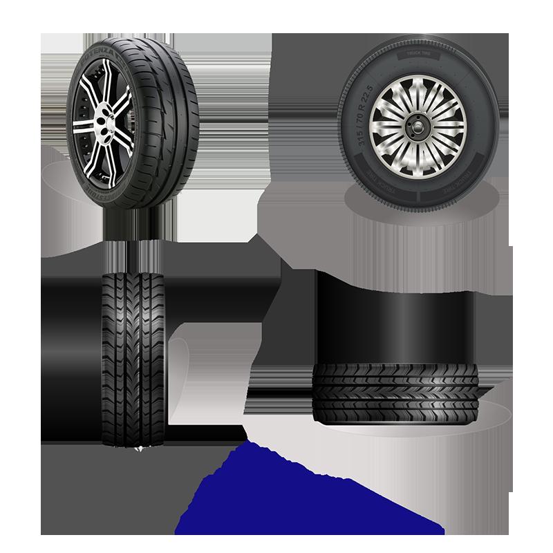 Car Wheel PNG Images.