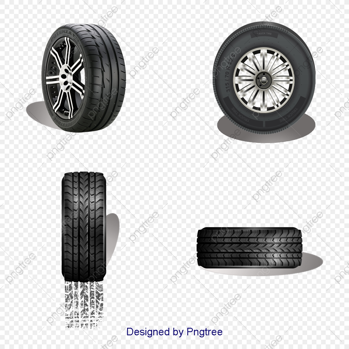 Car Wheel Tires, Beautifully Tire, Car Tires, Rims PNG Transparent.
