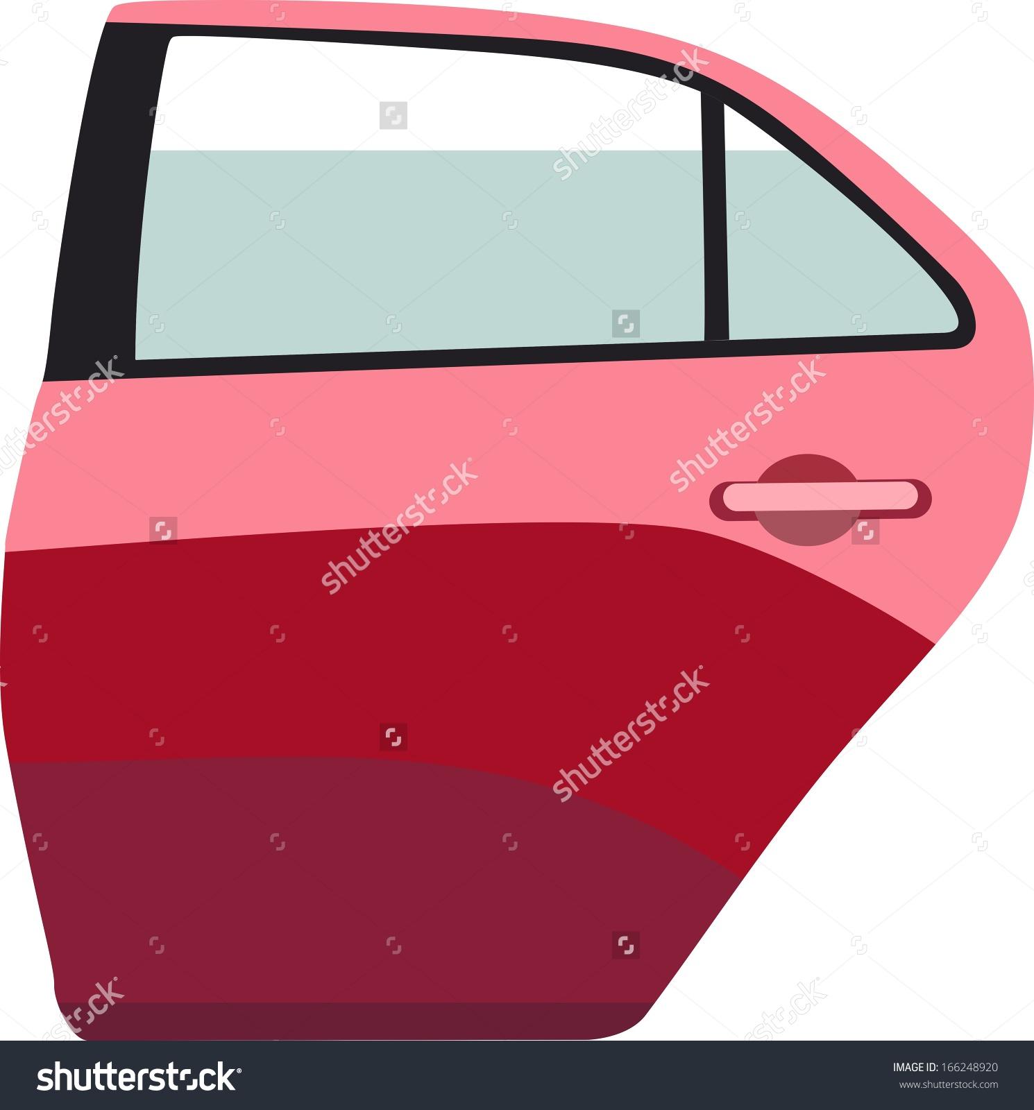 Car side window clipart.