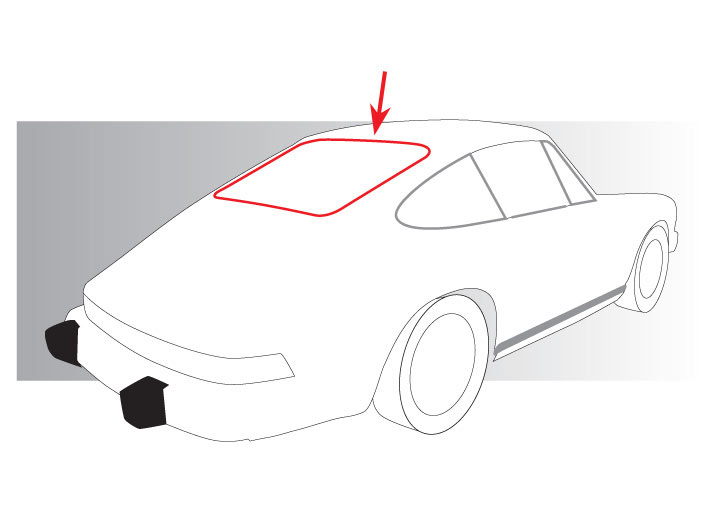 Porsche 914 Rear Window Seal Results.