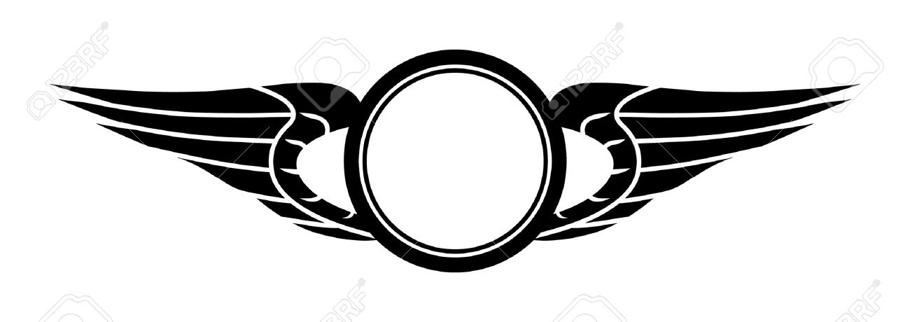 Car Wing Clipart Clipground - Car sign with wings