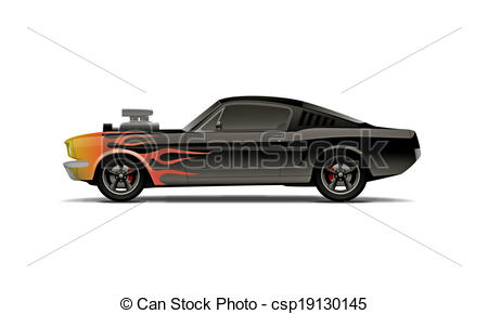 Muscle car Stock Illustrations. 2,164 Muscle car clip art images.