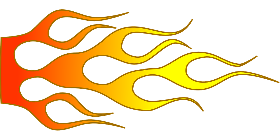 Free vector graphic: Fire, Car, Flame, Sports, Motor.