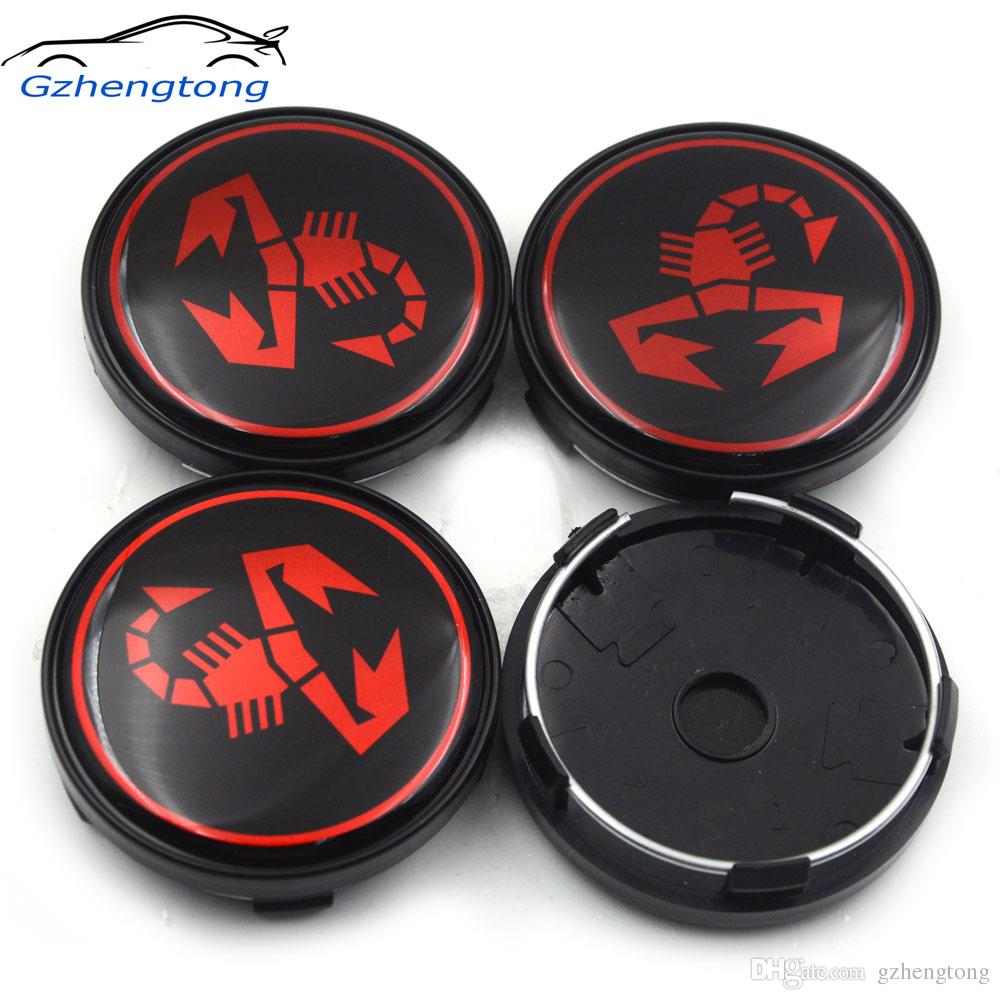 Gzhengtong 60mm 3D Scorpion Car Wheel Center Cap Car Rim Hub Cap For Fiat  500 Punto Bravo Stilo Panda Abarth 500 Decal Logos Cars Brands Logos For  Car.
