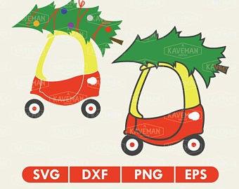 Car christmas tree.