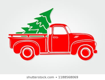Christmas Truck Images, Stock Photos & Vectors.