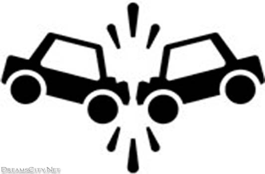 Car accident clip art.