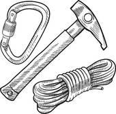 Carabiner Clip Art.