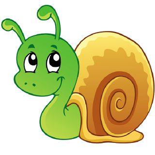 Clip Art Snail.